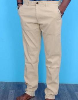 Men's khaki cotton casual/formal trouser